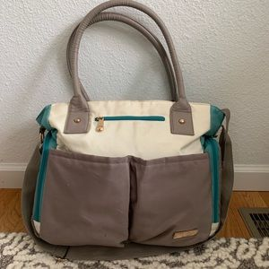 Fisher Price Fast Finder diaper bag turquoise
